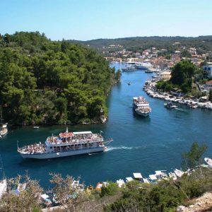 Excursions Corfu Paxos island Avra hotel Benitses